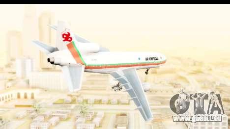 Lockheed L-1011-100 TriStar TAP Portugal pour GTA San Andreas laissé vue