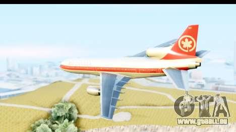 Lockheed L-1011-100 TriStar Air Canada pour GTA San Andreas laissé vue