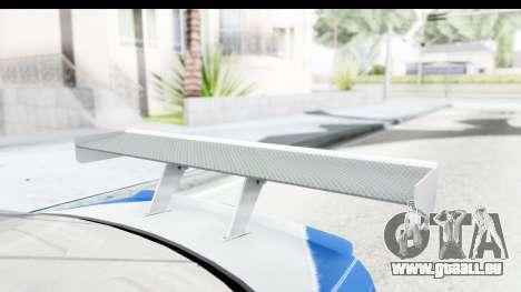 NFS: MW - BMW M3 GTR pour GTA San Andreas vue intérieure