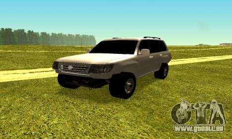 Toyota Land Cruiser 105V für GTA San Andreas rechten Ansicht
