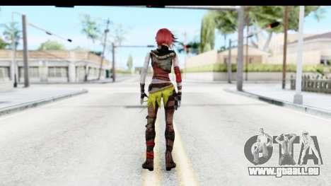 Borderland - Lilith pour GTA San Andreas troisième écran