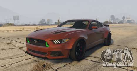 Ford Mustang GT Premium HPE750 Boss pour GTA 5