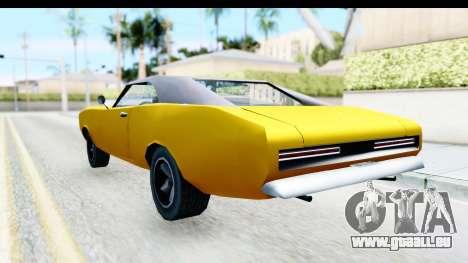 Imponte Dukes 1971 pour GTA San Andreas laissé vue