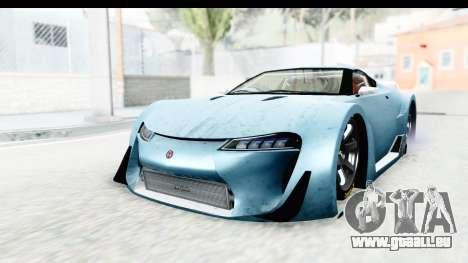 GTA 5 Emperor ETR1 v2 IVF pour GTA San Andreas