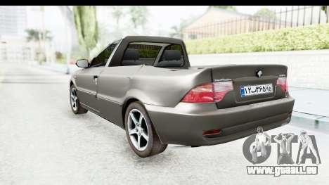 Ikco Samand Pickup v1 für GTA San Andreas linke Ansicht