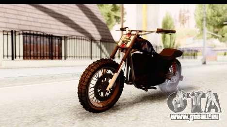 GTA 5 Western Cliffhanger Custom v2 IVF pour GTA San Andreas