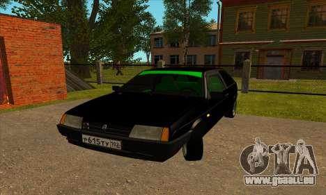 VAZ 2108 pour GTA San Andreas laissé vue