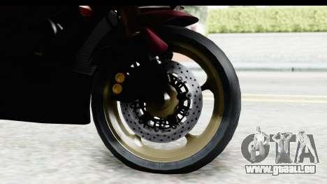Yamaha YZF-R6 2008 für GTA San Andreas Rückansicht