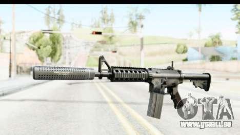 AR-15 Silenced für GTA San Andreas