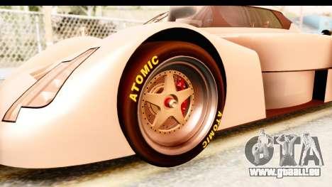 GTA 5 Annis RE-7B für GTA San Andreas Rückansicht