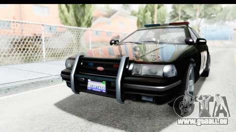 Vapid ULTOR Police Cruiser für GTA San Andreas