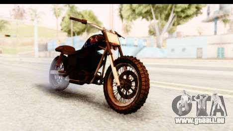 GTA 5 Western Cliffhanger Custom v2 IVF pour GTA San Andreas vue de droite