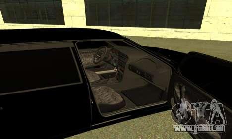 2115 für GTA San Andreas Innenansicht