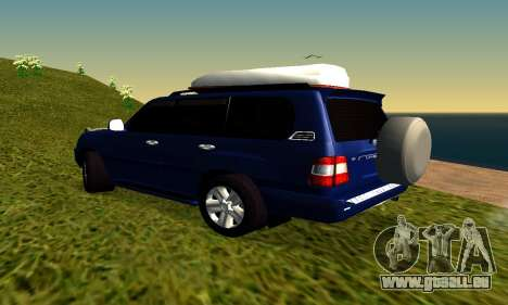 Toyota Land Cruiser 100vx2 für GTA San Andreas rechten Ansicht