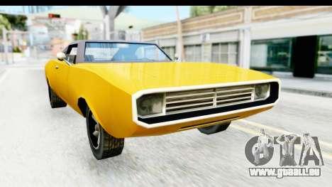 Imponte Dukes 1971 pour GTA San Andreas vue de droite