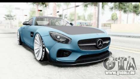 Mercedes-Benz AMG GT Prior Design pour GTA San Andreas vue de droite