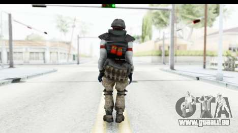 The Division Last Man Battalion - Grenadier pour GTA San Andreas troisième écran