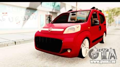 Fiat Fiorino v2 für GTA San Andreas rechten Ansicht