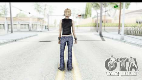 Silent Hill 3 - Heather Sporty Black Pennywise R für GTA San Andreas dritten Screenshot
