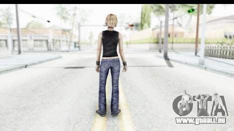 Silent Hill 3 - Heather Sporty Black Pennywise R für GTA San Andreas dritten Screenshot