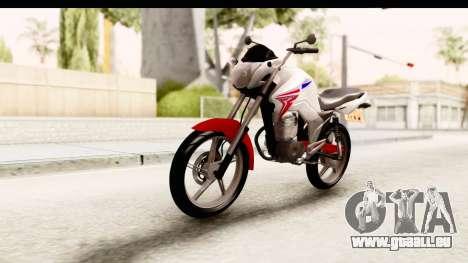 Honda CG150 pour GTA San Andreas