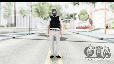 Kane and Lynch 2 - Bandit in Mask v1 pour GTA San Andreas deuxième écran