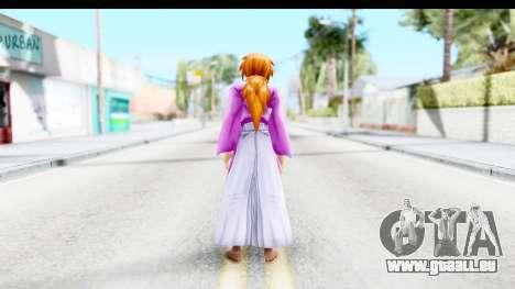 Kenshin v1 pour GTA San Andreas troisième écran