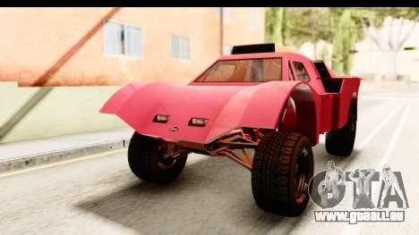 GTA 5 Desert Raid IVF für GTA San Andreas zurück linke Ansicht