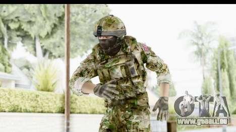 Global Warfare UK pour GTA San Andreas