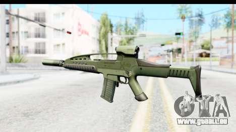 H&K XM8 Silenced pour GTA San Andreas deuxième écran