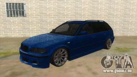BMW E46 Touring Facelift für GTA San Andreas