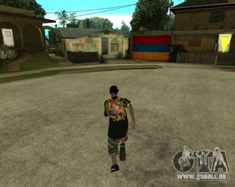 New Armenian Skin pour GTA San Andreas troisième écran