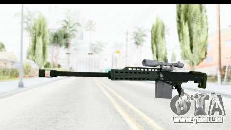 GTA 5 Vom Feuer Heavy Sniper für GTA San Andreas