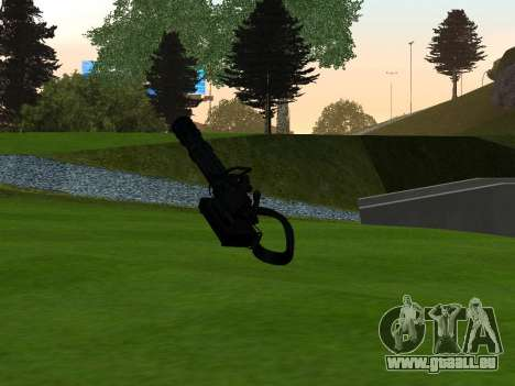 M134 MINIGUN BLACK für GTA San Andreas zweiten Screenshot