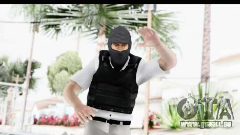 Kane and Lynch 2 - Bandit in Mask v1 pour GTA San Andreas