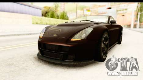 GTA 5 Dewbauchee Rapid GT SA Style für GTA San Andreas rechten Ansicht