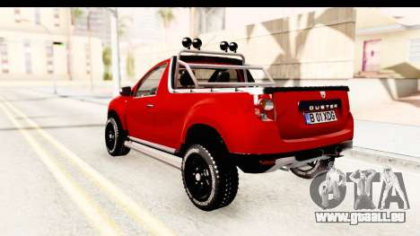 Dacia Duster Pickup für GTA San Andreas linke Ansicht