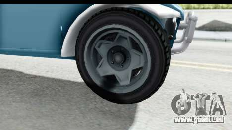 GTA 5 BF Injector pour GTA San Andreas vue arrière