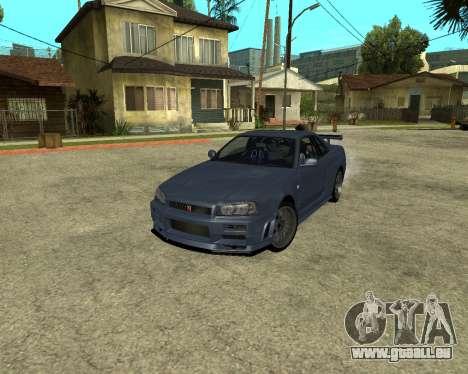 Nissan Skyline Armenia pour GTA San Andreas