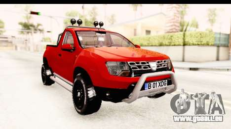 Dacia Duster Pickup für GTA San Andreas rechten Ansicht