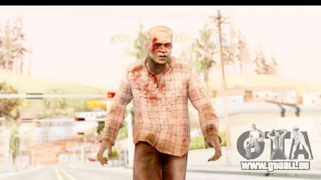 Left 4 Dead 2 - Zombie Shirt 2 für GTA San Andreas