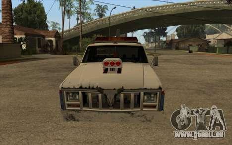 Nouvelle de remorquage pour GTA San Andreas laissé vue