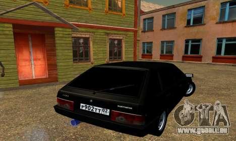 2109 pour GTA San Andreas vue de dessous