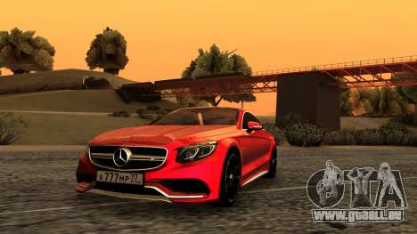 Mercedes-Benz S63 Coupe für GTA San Andreas