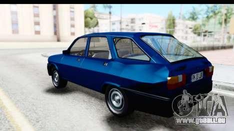 Dacia Liberta pour GTA San Andreas laissé vue