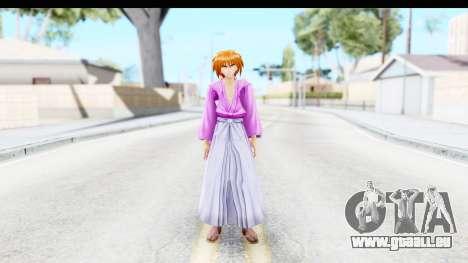 Kenshin v3 pour GTA San Andreas deuxième écran