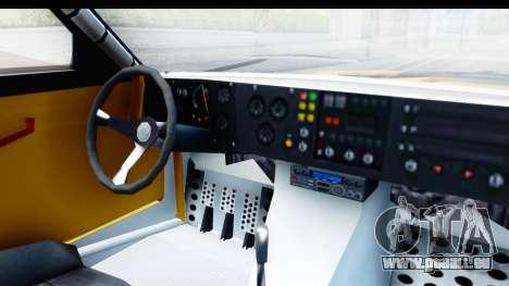 GTA 5 Obey Omnis IVF pour GTA San Andreas vue intérieure