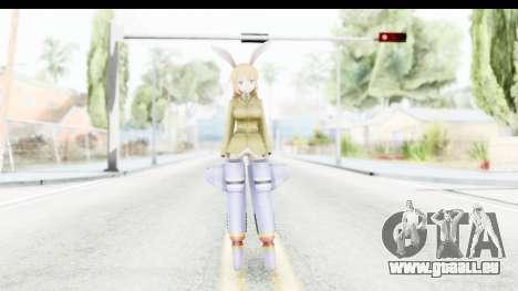 Charlotte (Strike Witches) pour GTA San Andreas deuxième écran