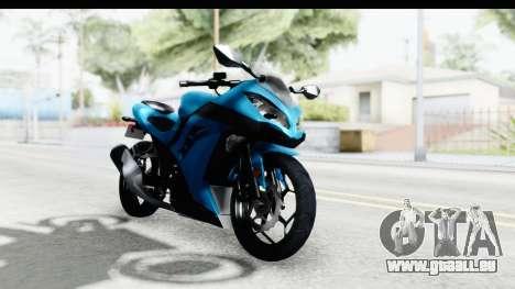 Kawasaki Ninja 300R für GTA San Andreas rechten Ansicht