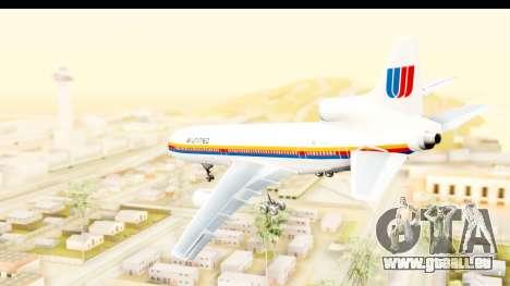 Lockheed L-1011-100 TriStar United Airlines pour GTA San Andreas laissé vue